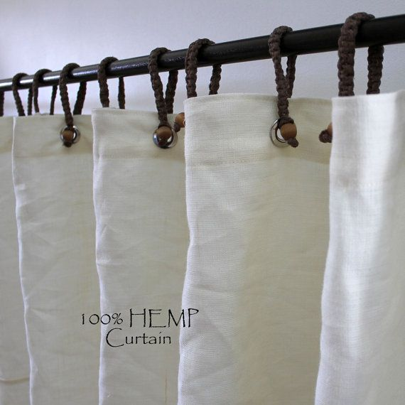 Organic Hemp Shower Curtain Full Size By Turnanewleafdesigns 14000