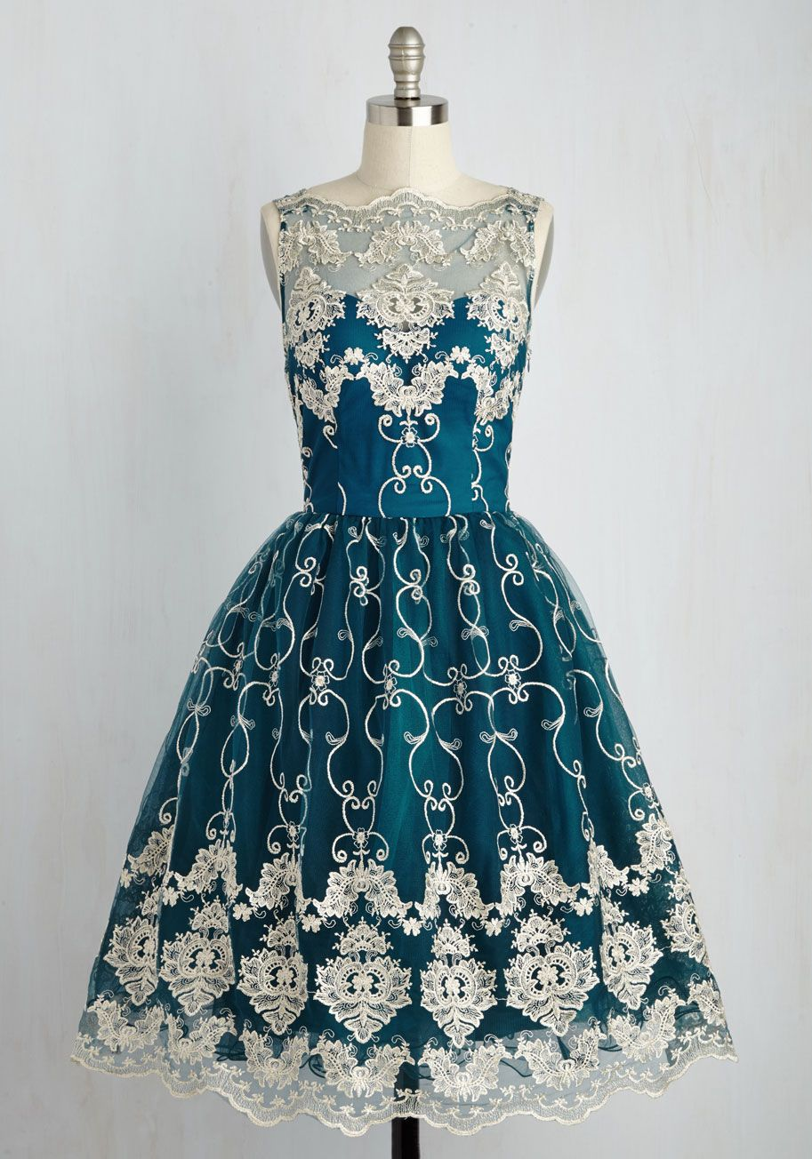 DefiningIconicStyle.com - Once you don this fit-and-flare dress by ...