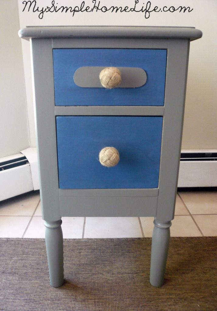 Simple Home Life Nautical Striped Nightstands Boys Dresser Home Goods Boy Dresser Dresser Refinish