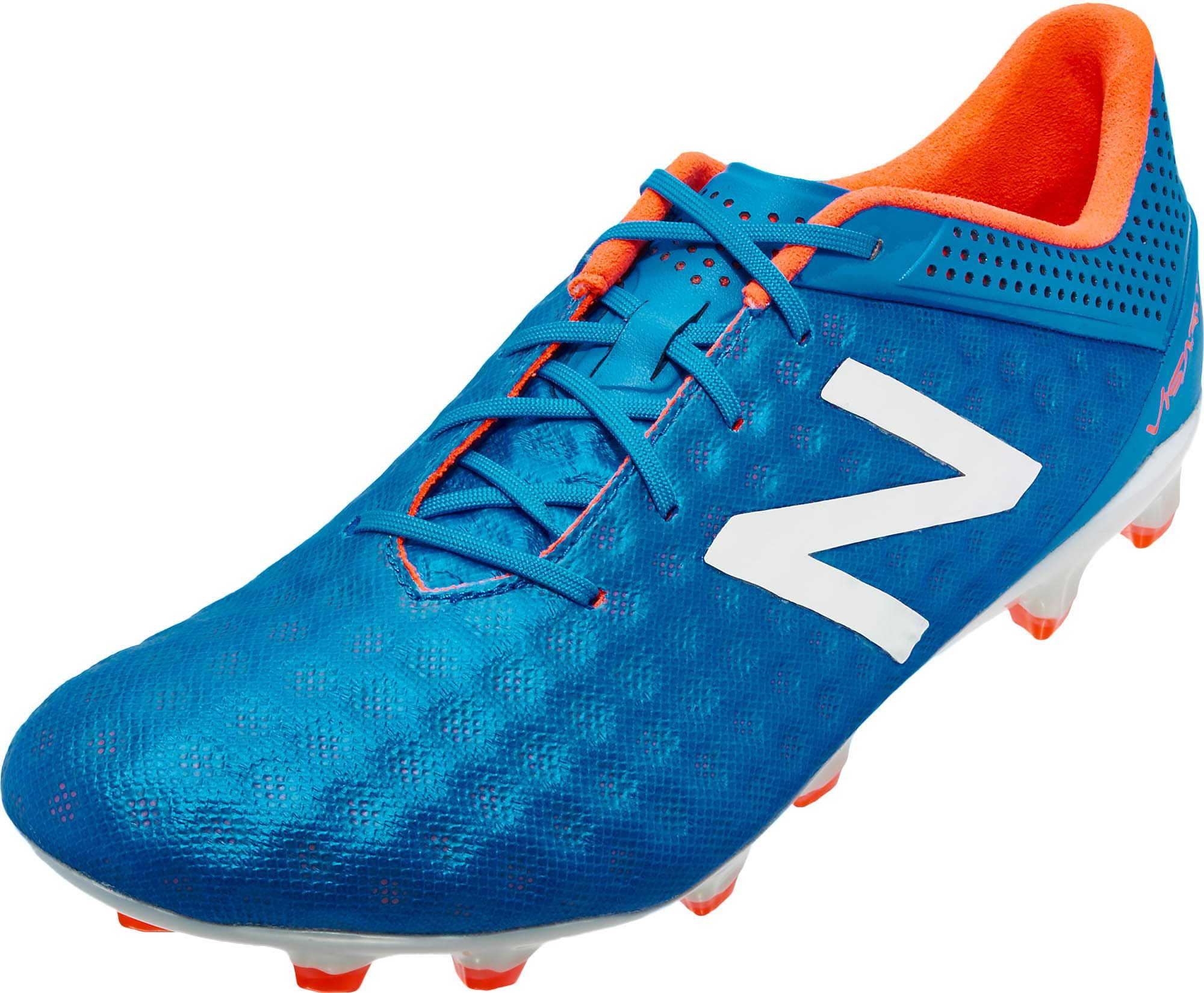 New balance visaro cleats blue new balance soccer shoes