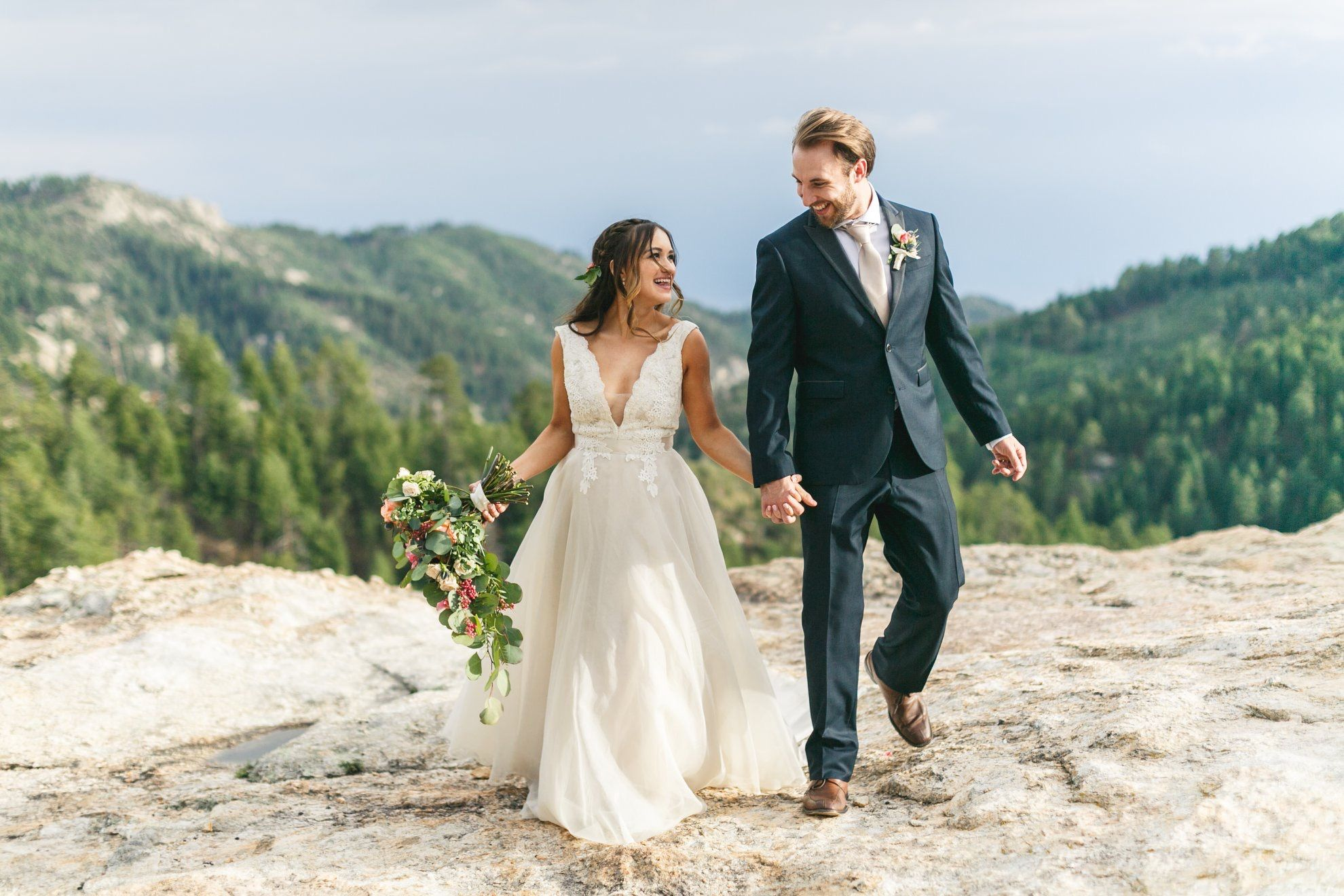 1c8f725cdb920 Tucson Mountain Wedding - Tara Keely 2500 - Romantic Wedding Gown ...