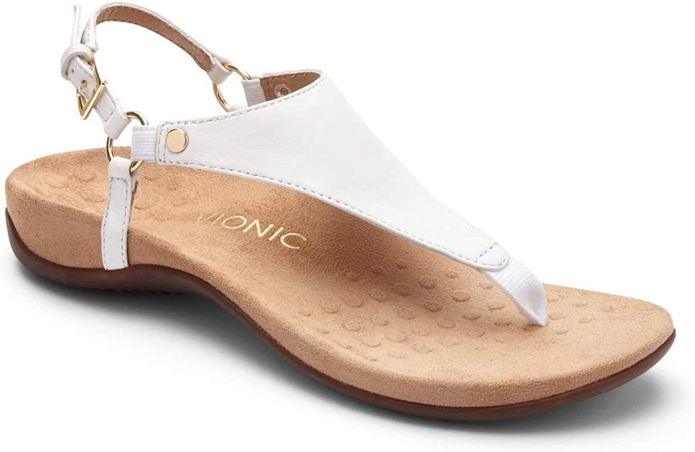 247a1e22dba53 Amazon.com: Vionic Women's Rest Kirra Backstrap Sandal - Ladies ...