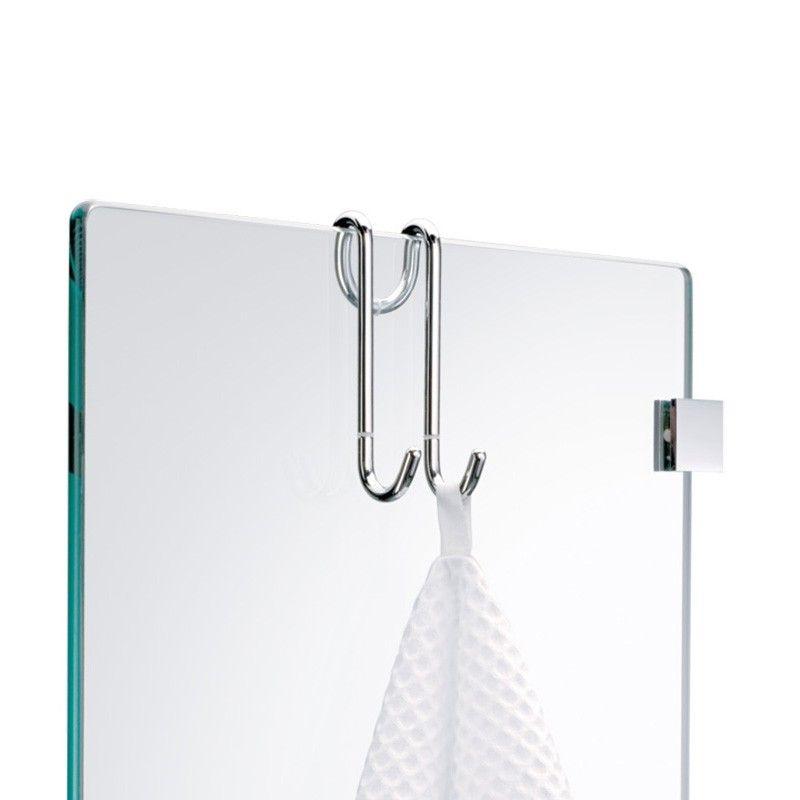 DW DH 1 Hang Up Double Bathroom Hook in Chrome | Bathroom ...