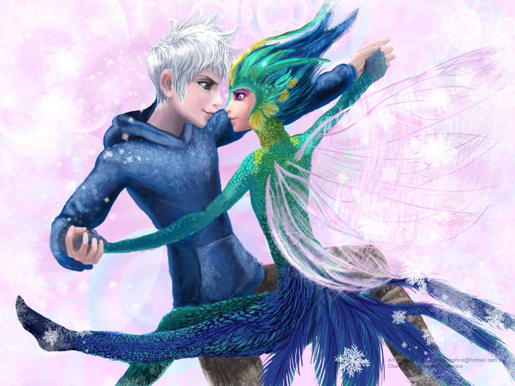 Jack Frost and Toothiana dancing | Jack Frost | Pinterest ...