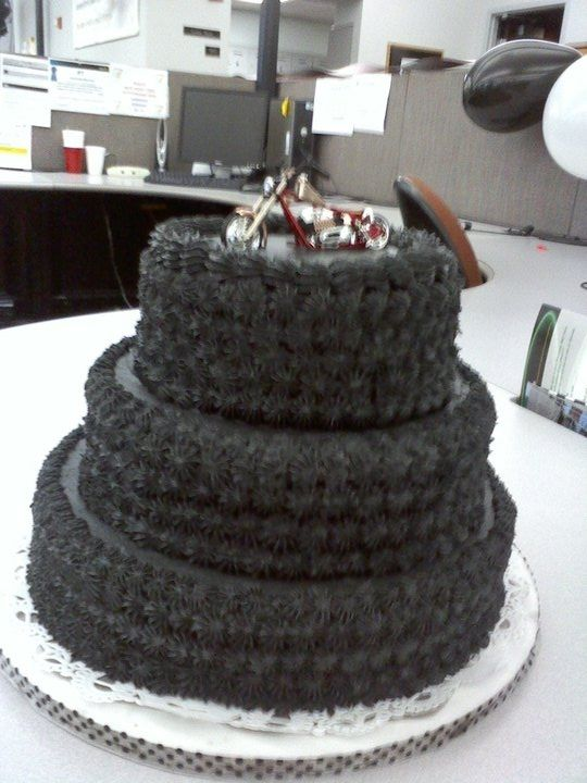Motorcycle Tire Cake With No Fondant Motorcycle Sports