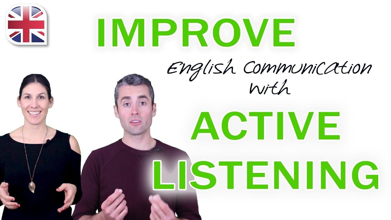Active listening in english improve english