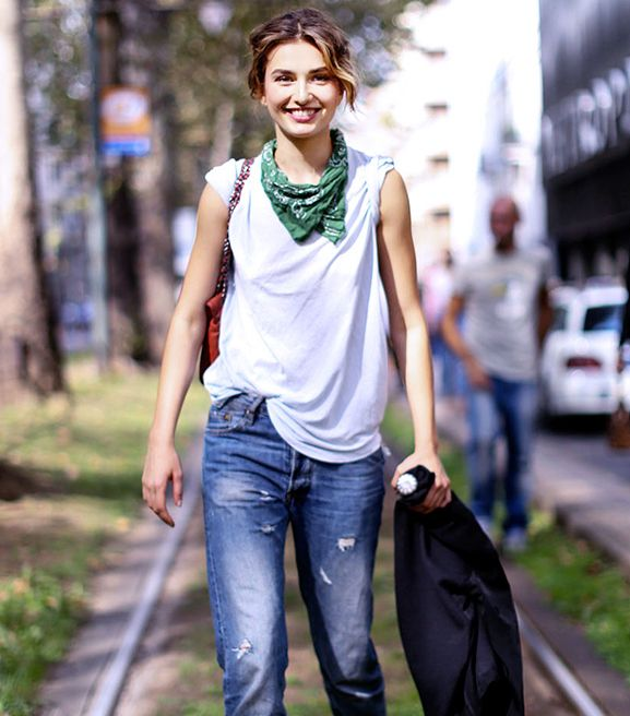 9 Genius Summer Styling Tricks Fashion Style Scarf Trends