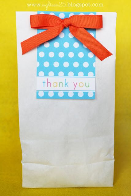 Cute Party Bag Or Gift For Cookies