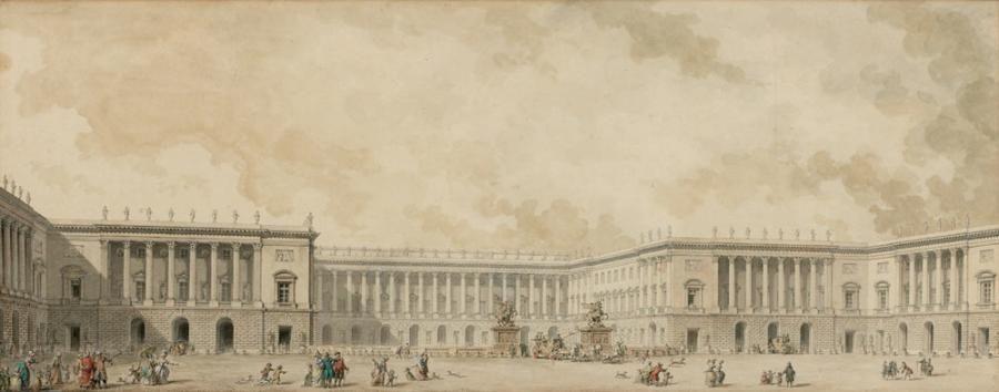 Pierre Adrien Paris Besancon 1745 1819 Et Louis Jacquesdurameau