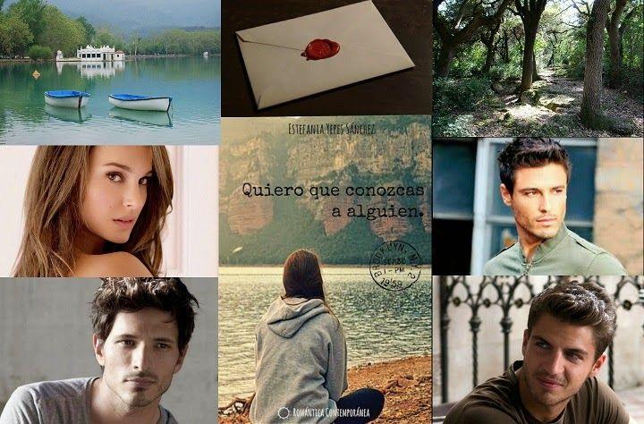 """Collage para la reseña de la novela """"Quiero que conozcas a alguien! de Estefanía Yepes Sánchez"""