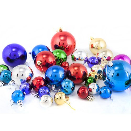 Oversized ball 15cm20-60cm plastic ball light ball Christmas ball