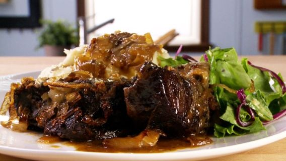Palette de boeuf cuit longtemps recette en 2019 viandes steak beef recipes et recipes - Cuisiner un roti de boeuf au four ...