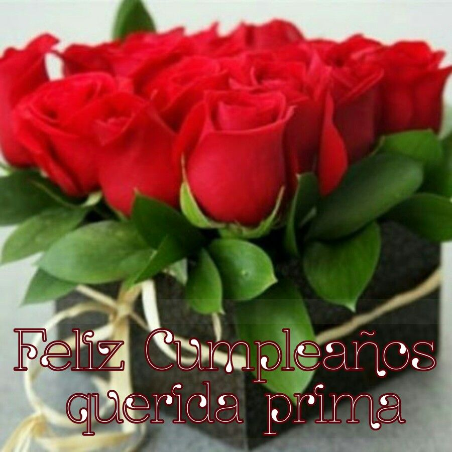 Feliz Cumpleaños Prima Happy Birthday My Friend Valentines