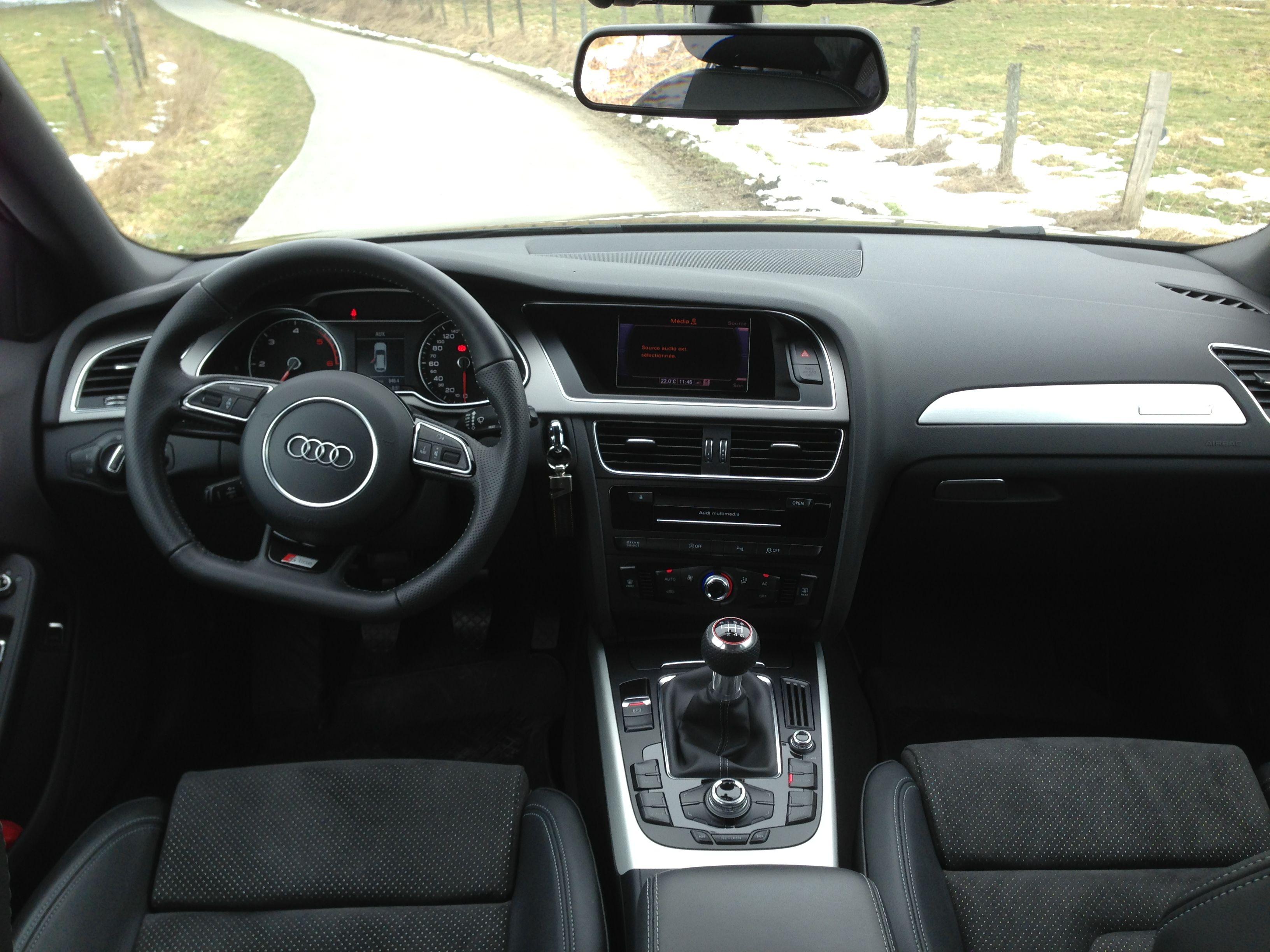 Audi a4 avant s line 2013 interior