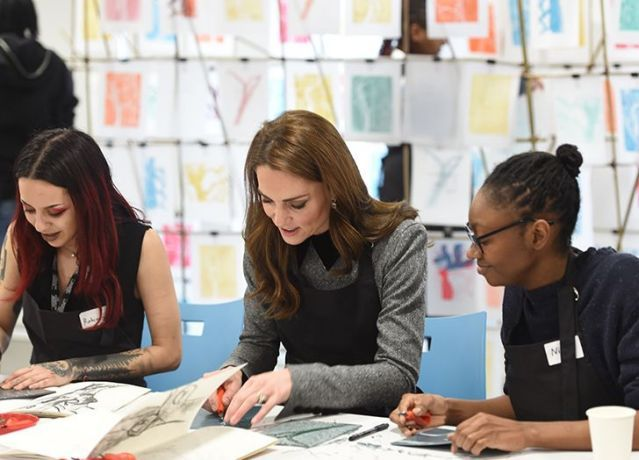 Photo of She Wasn't an Art History Major for Nothing: Kate Middleton Picks Up New Royal Patronage
