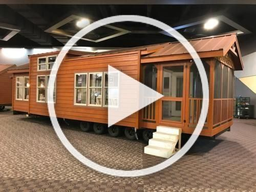 CABIN TINY HOUSE (MANY STYLES) MOVABLE PRE-FAB FOR YOUR PROPERTY/LOT PART. FURN. #tinyhouse #home #lifestyle #prefabnsmallhomes