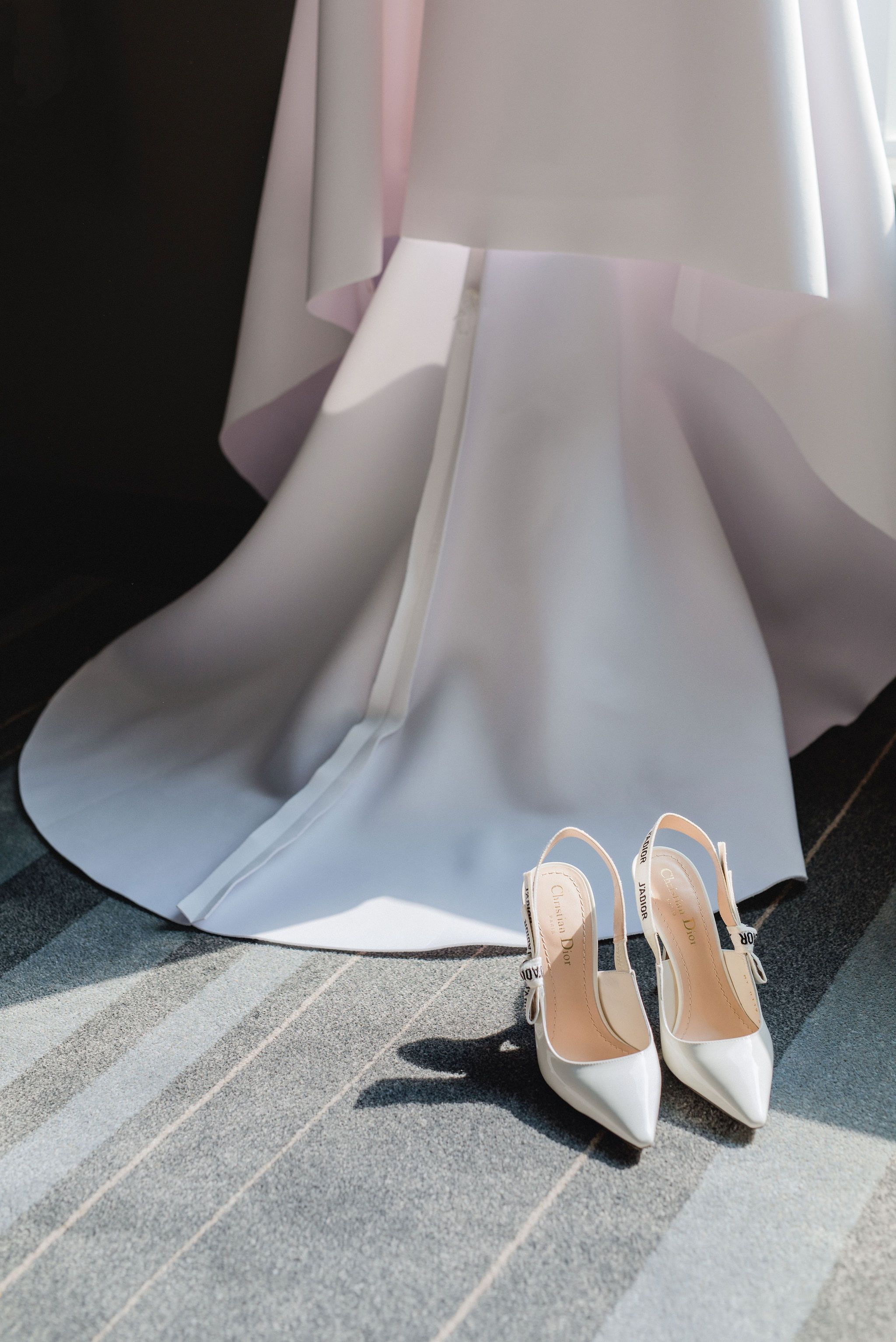 Bridal Details Dior Shoes Heels Wedding Details Flatlay Layflat Toronto Bride Modern Romantic Dior Shoes Wedding Shoes Bride Wedding Heels