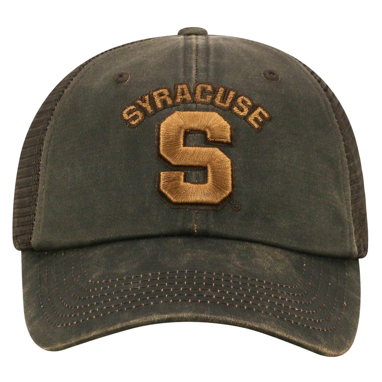 30763f4b Adult Top of the World Syracuse Orange Chestnut Adjustable Cap in ...