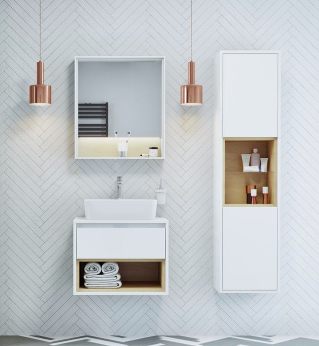 Meble Lazienkowe Excellent Z Serii Tuto Excellent Projektowaniewnetrz Sinkbath Umywalka Meble Modernbathroom Floating Nightstand Furniture Home Decor