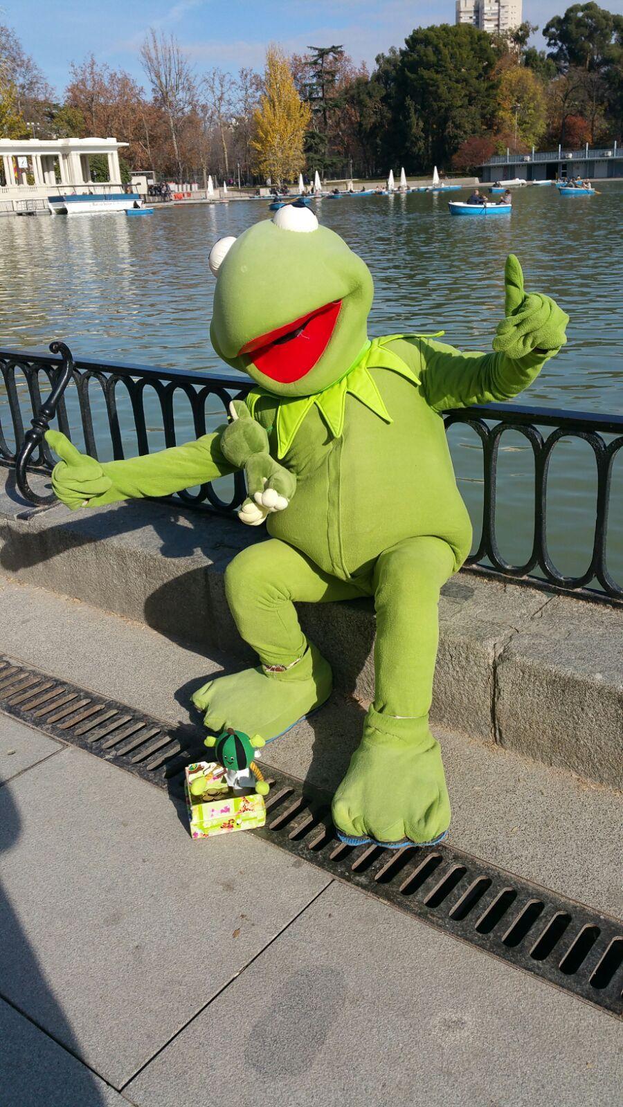 Pin de Curious Frog en FROGS - Julien Tromeur\'s frog & Kermit ...