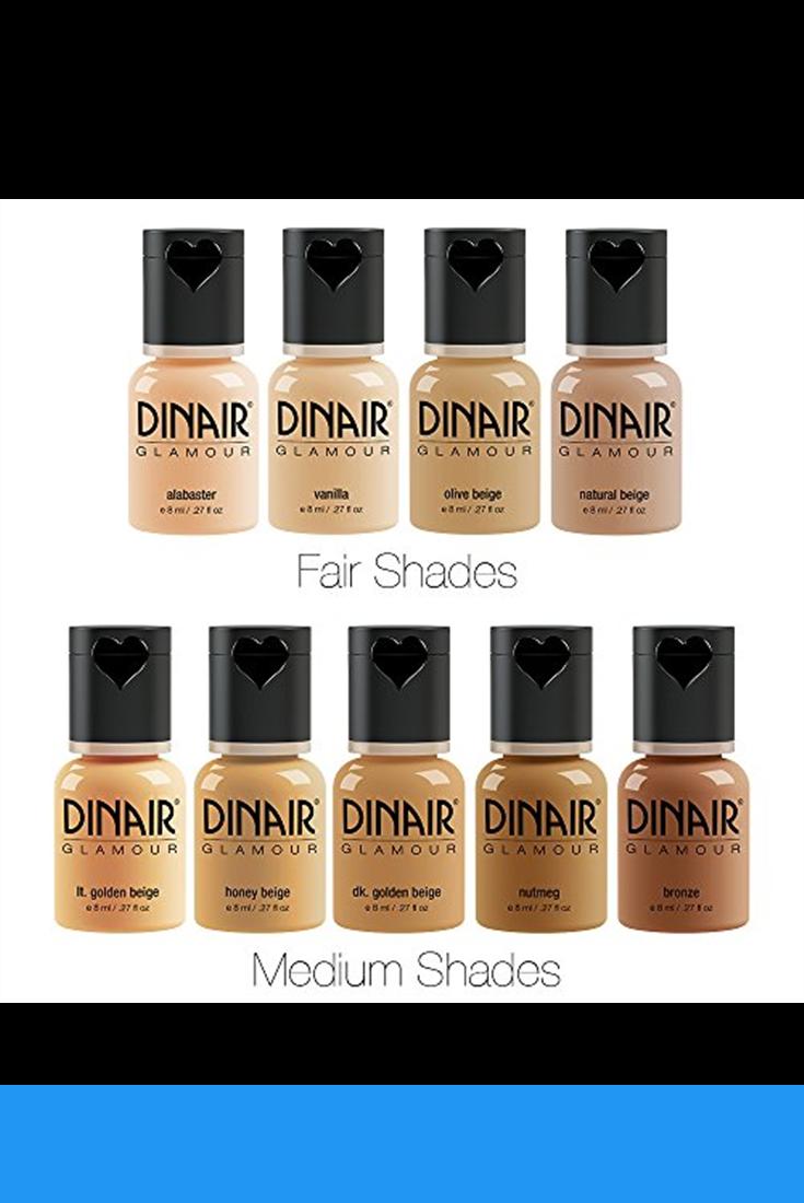 Dinair Airbrush Makeup Starter Kit, Double Shade Range