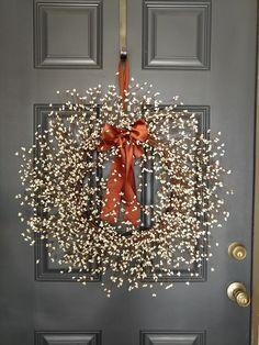 Christmas Wreath ,Holiday Wreath, Winter Wreath, C