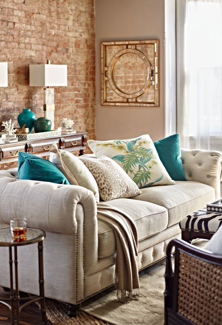 Perfect Our Barrow Sofa Masterfully Replicates This Iconic British Design U2013 Button  Tufted Back With A Low, Cushioned Seat, Rolled Arms With Nailhead Trim, ...