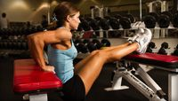 Kathleen Tesori's fitness program at bodybuilding.com - grab your pen and watch her 12 minute video!
