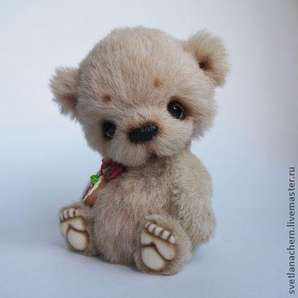 Джейк - мишки тедди,авторский мишка,коллекционный медведь,медвежонок,альпака
