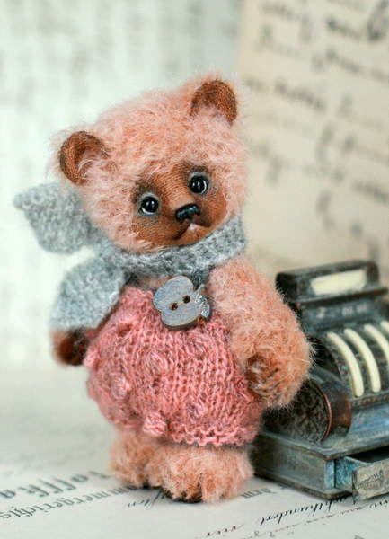 Flo by Stakhova Bears | TEDDY BEARS | Bear, Cute teddy bears, Cute bears