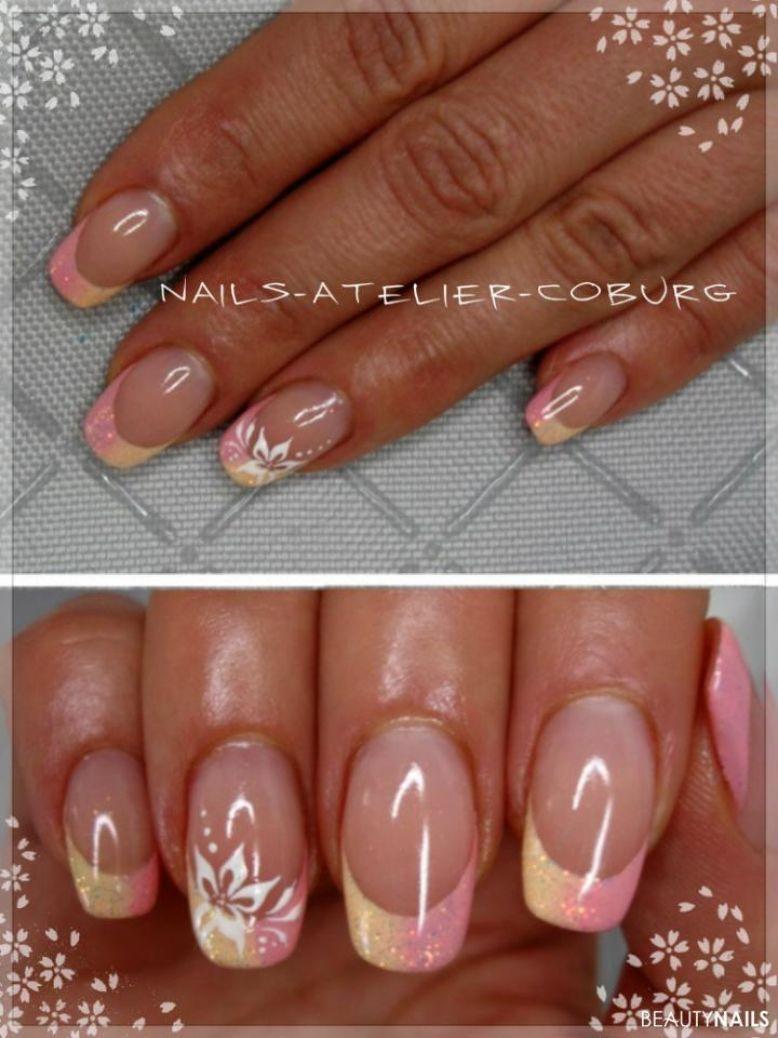 rosa-gelb Galerie Bilder Naildesign | Nageldesign | Pinterest ...
