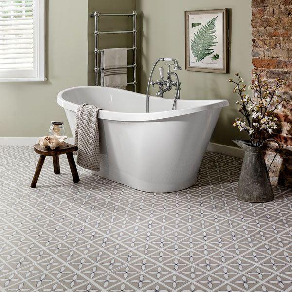 Lattice Pebble Grey - Flooring design by Dee Hardwicke for ...