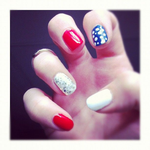 #USA #nails