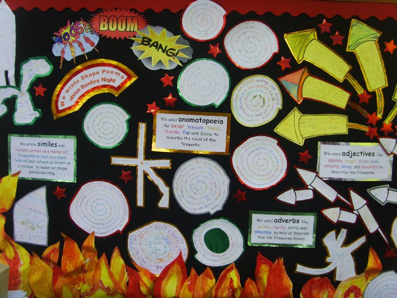 Shape Poems classroom display photo - Photo gallery