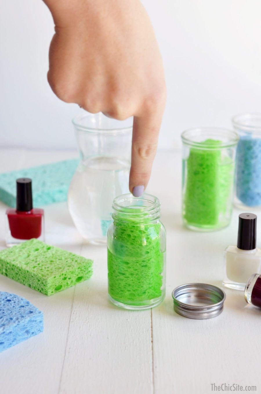 DIY Nail Polish Remover Diy nail polish remover, Diy