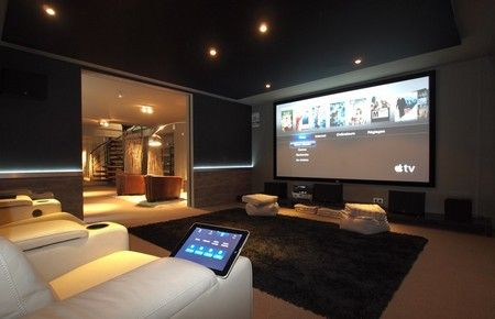 installer une salle de cin ma chez soi home cinema pinterest salle de cin ma chez soi et. Black Bedroom Furniture Sets. Home Design Ideas