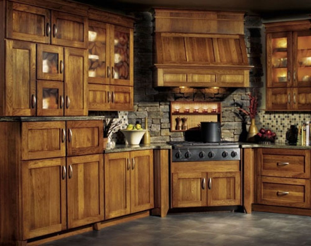 Kitchen Hickory Kitchen Cabinets Throughout Finest Hickory Kitchen Cabinets Colors Cabinet Ideas Wi Hickory Kitchen Hickory Cabinets Hickory Kitchen Cabinets