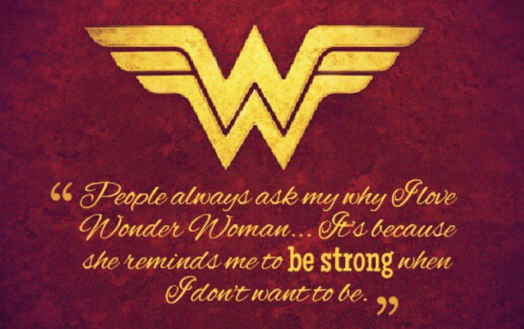 Wonder Woman Fitness Quotes: Pin By Marissa Serna On My Superhero
