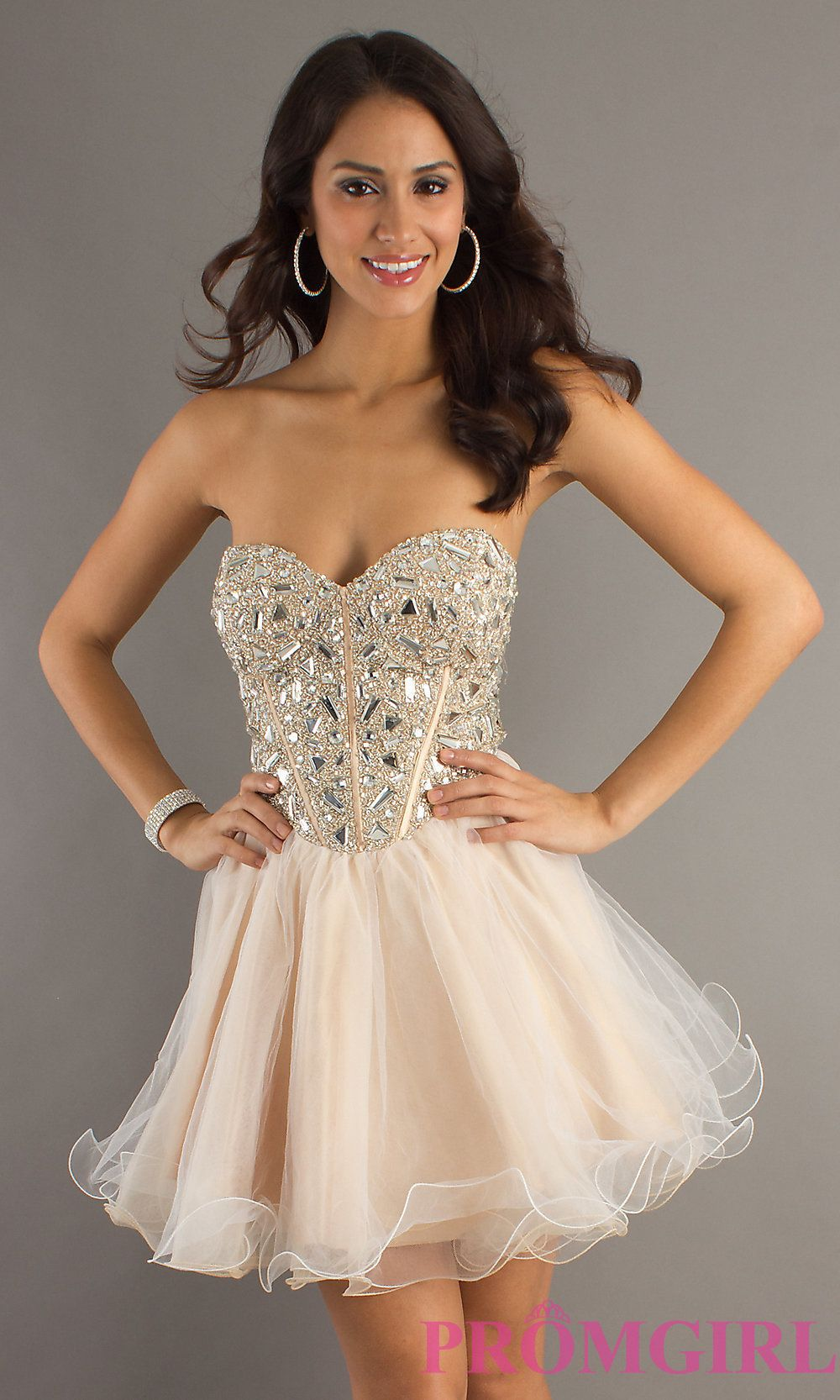 Short Prom Dress Front Image | Madison | Pinterest | Victoria ...