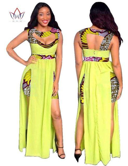 Bohemian Maxi Dress Bohemian Africa Asymmetrical Clothing