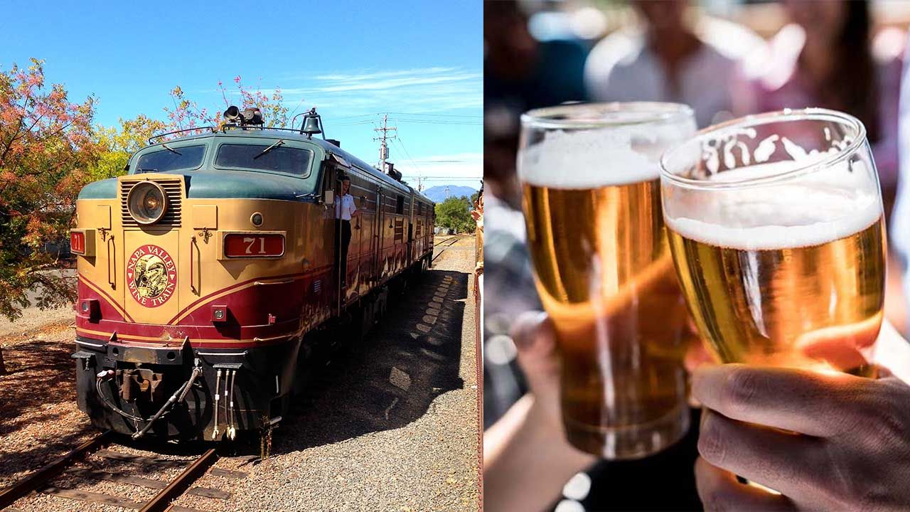 Beer Train To Tour Napa Valley This Summer With Images Napa