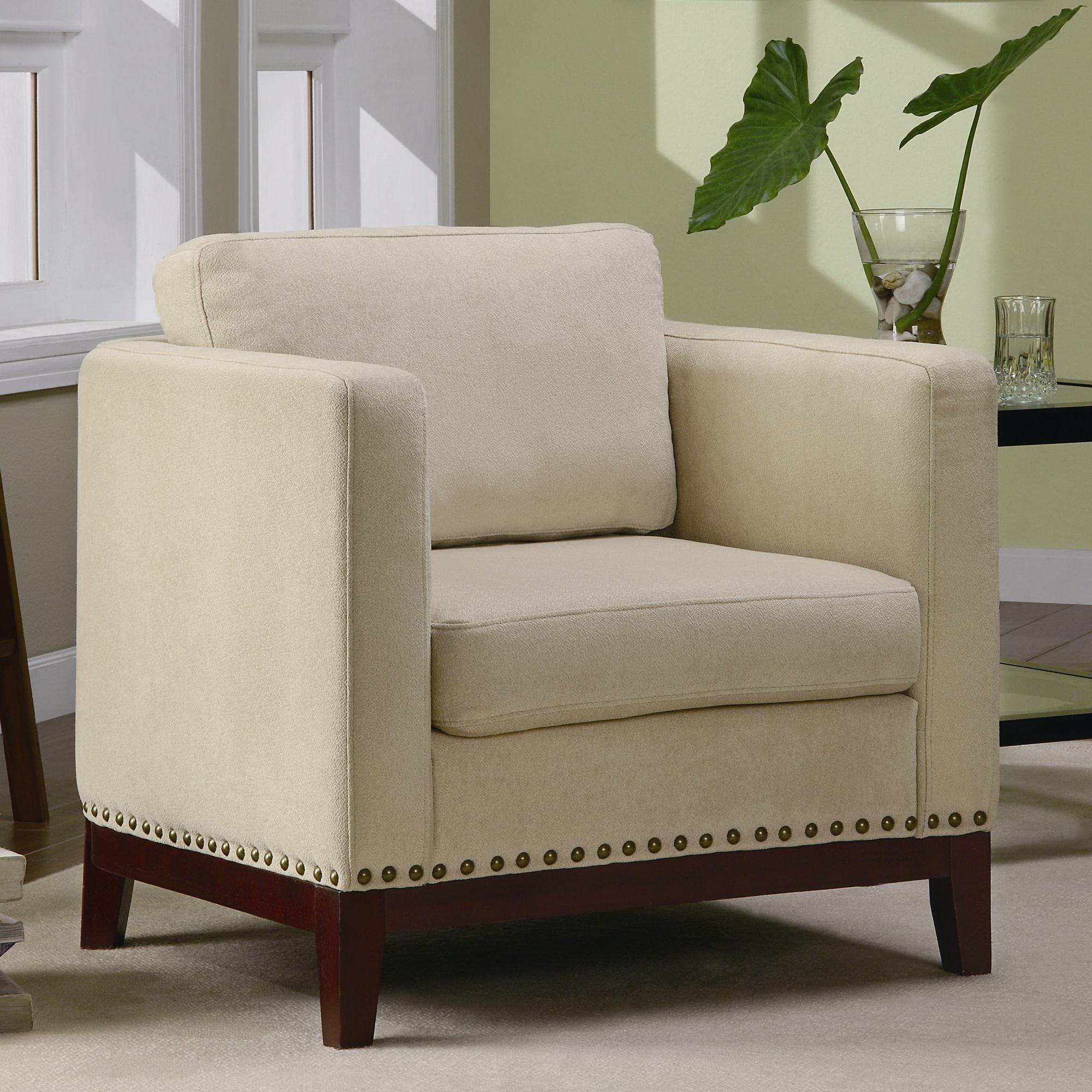 Best Wildon Home Augusto Accent Chair In Walnut Wayfair Com 400 x 300