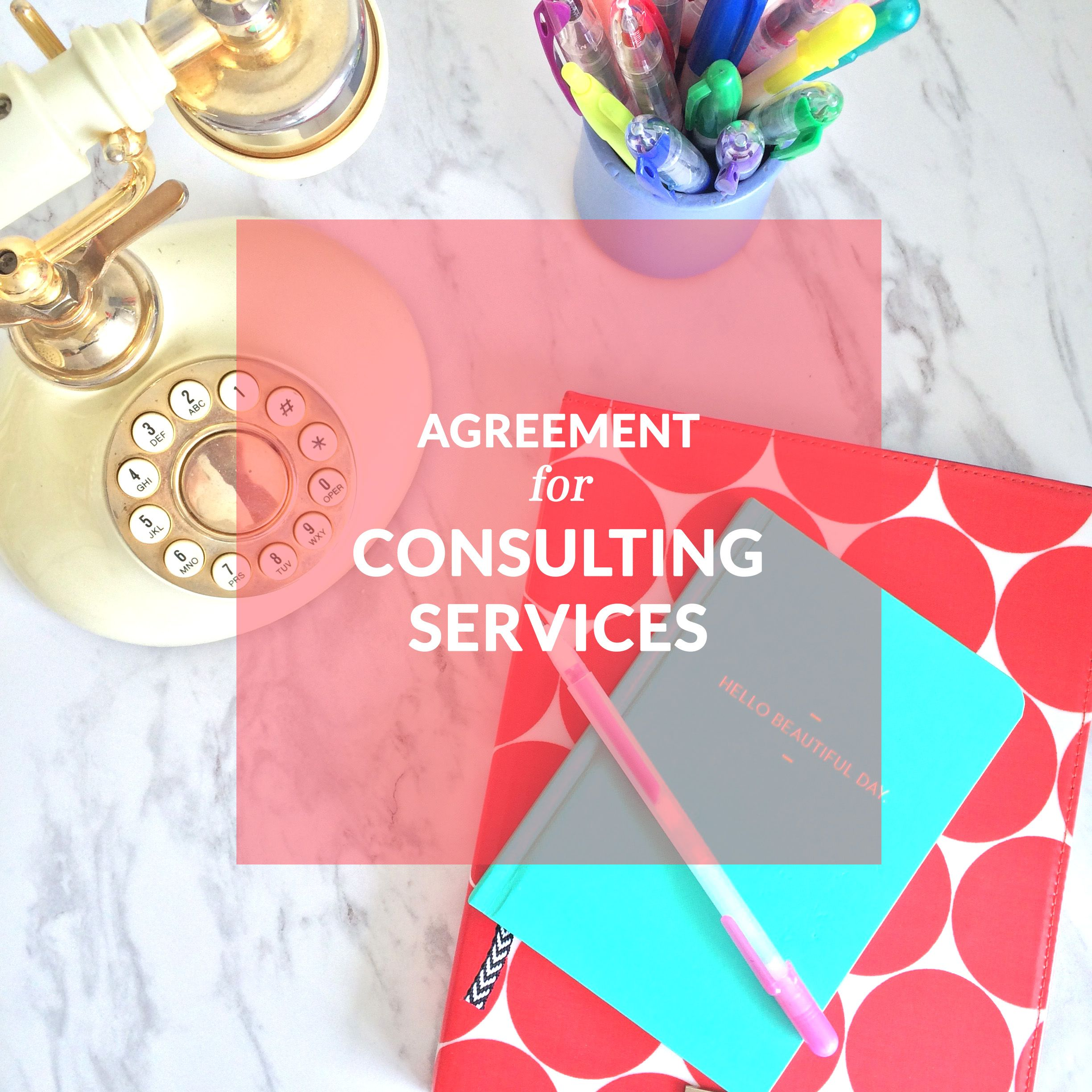 Agreement For Consulting Services Template Contract Contract