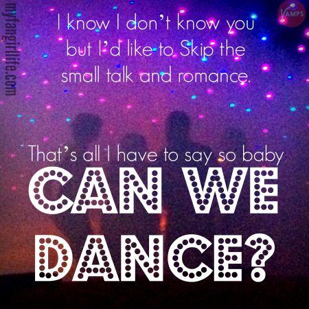 Vamps Meet the Vamps Lyrics - Can We Dance