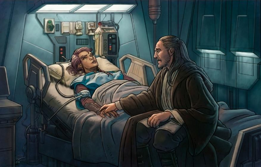 Qui Gon Jinn And Tahl Google Search Hermine