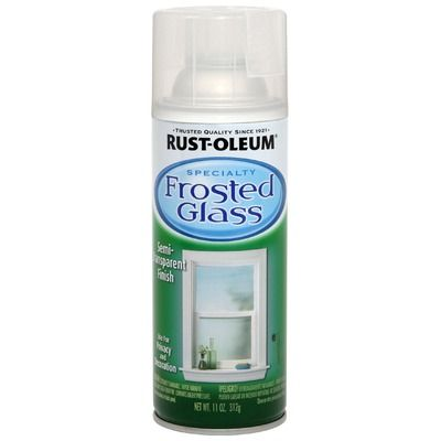 Rustoleum Frosted Glass Spray Paint 1903 830 For The Ridiculous