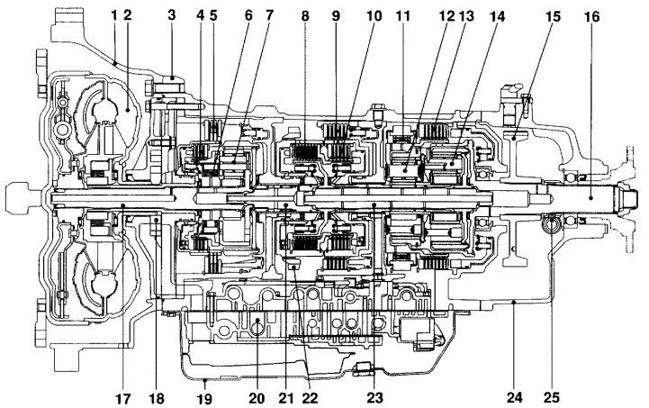 Isuzu 450-43LE Automatic Transmission Workshop Manual NRP ...