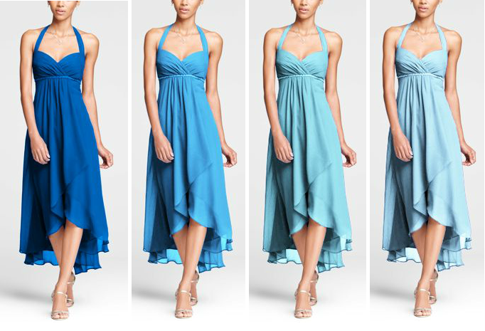 Capri Mint Bridesmaid Dresses