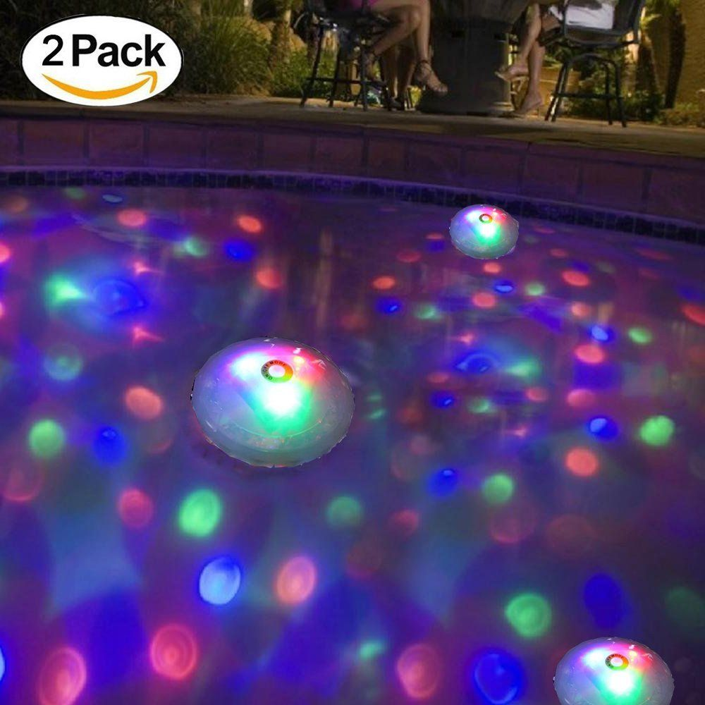 Pool Komplettset Amazon Amazon Meedoo 2 Pack Swimming Pool Lights Floating