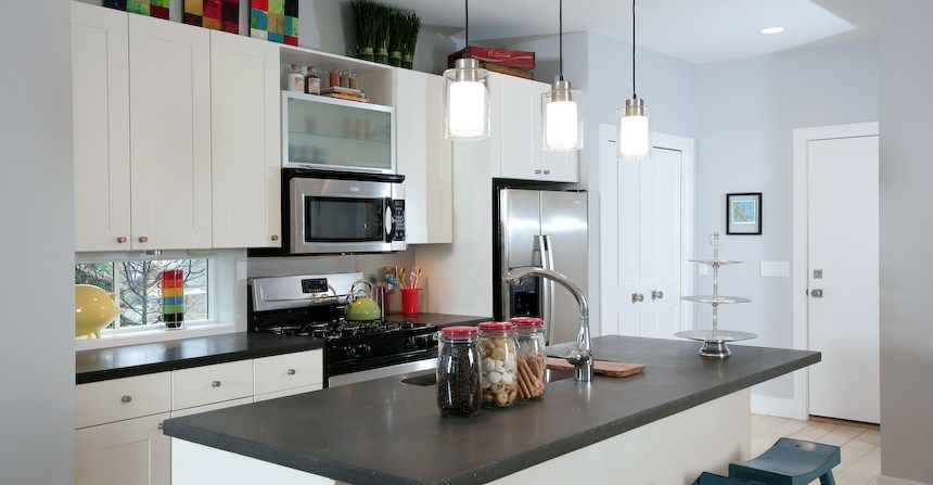 Brown Grey Counter Stovetop Concrete Countertops Flying Turtle Fascinating Concrete Kitchen Countertops 2018